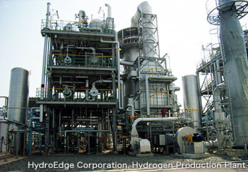 Hydroedge Construction Of Hydrogen Production Plant