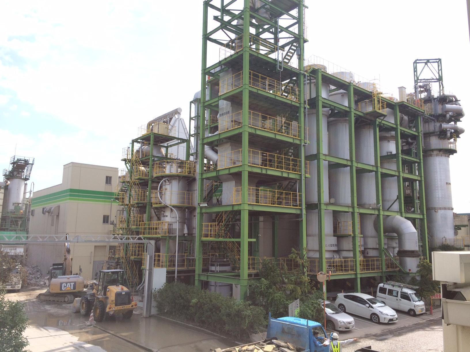 木質バイオマス設備撤去工事