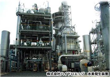 (株)ハイドロエッジ向け水素発生装置建設工事