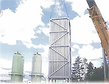(株)長田野ガスセンター向けLNGサテライト設備建設工事