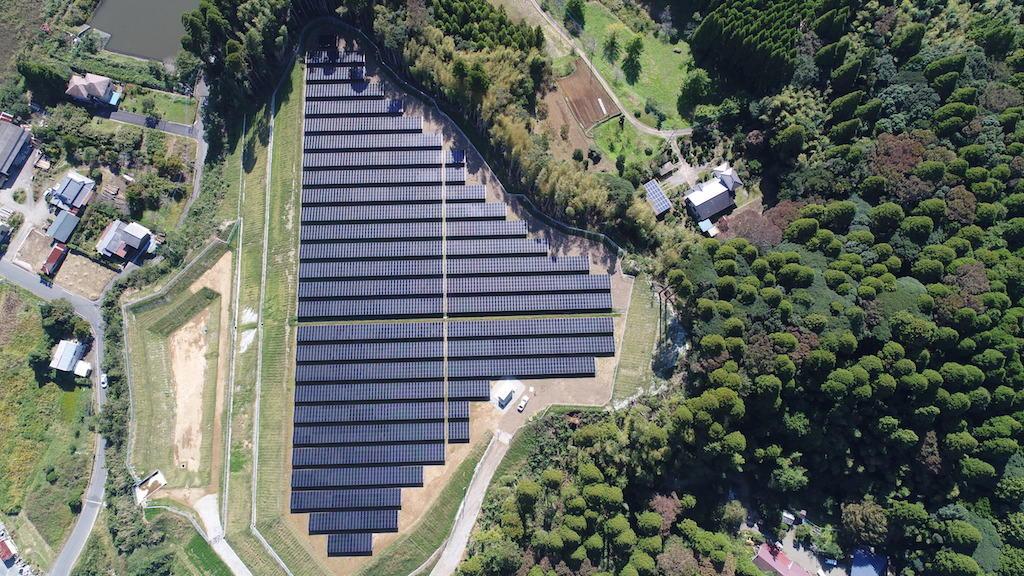 山武市太陽光発電システム設置建設工事